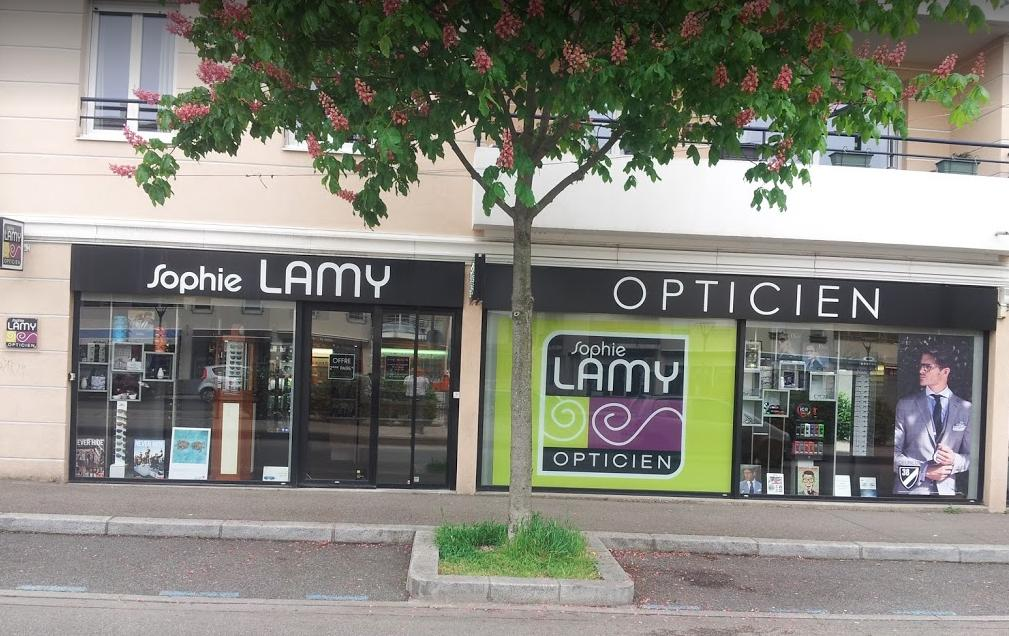 Devanture du magasin Lamy Opticien Craponne