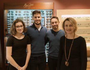 Photo de l'équipe de Lamy Opticien à Craponne